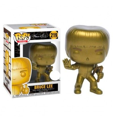 Funko Pop Game of Death Bruce Lee Gold Exclusive