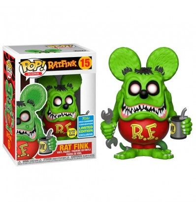 Funko Pop Rat Fink Glow Exclusive SDCC