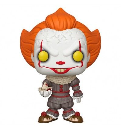 Figura FUNKO POP IT Chapter 2 Pennywise with Boat 25cm
