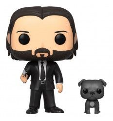Funko Pop John Wick John in Black Suit with Dog