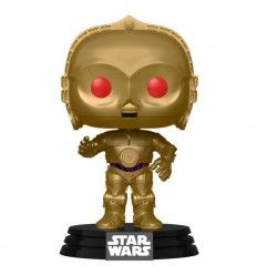 Funko Pop Star Wars Rise of Skywalker C-3PO Red Eyes Metallic