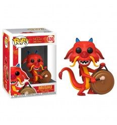 Funko Pop Disney Mulan Mushu with Gong