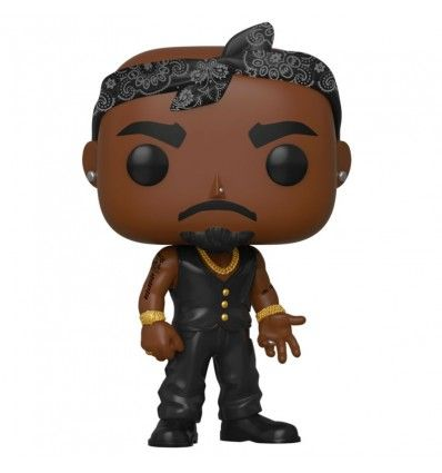 Funko Pop Tupac Vest with Bandana