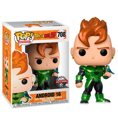 Funko Pop Dragon Ball Z Android 16 Special Edition