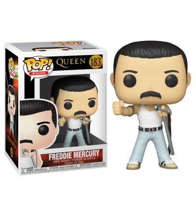 Funko Pop Queen Freddie Mercury Radio Gaga