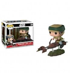 Funko Pop star wars leia on speeder bike deluxe