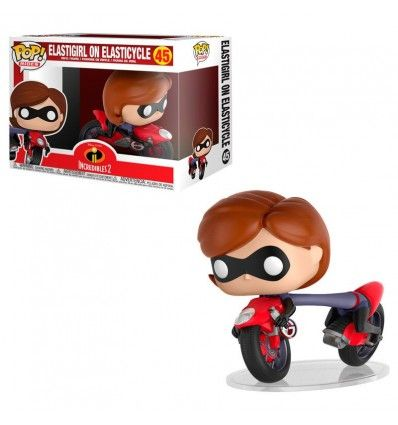 Funko Pop Disney Los Increibles 2 Elastigirl on Elasticycle