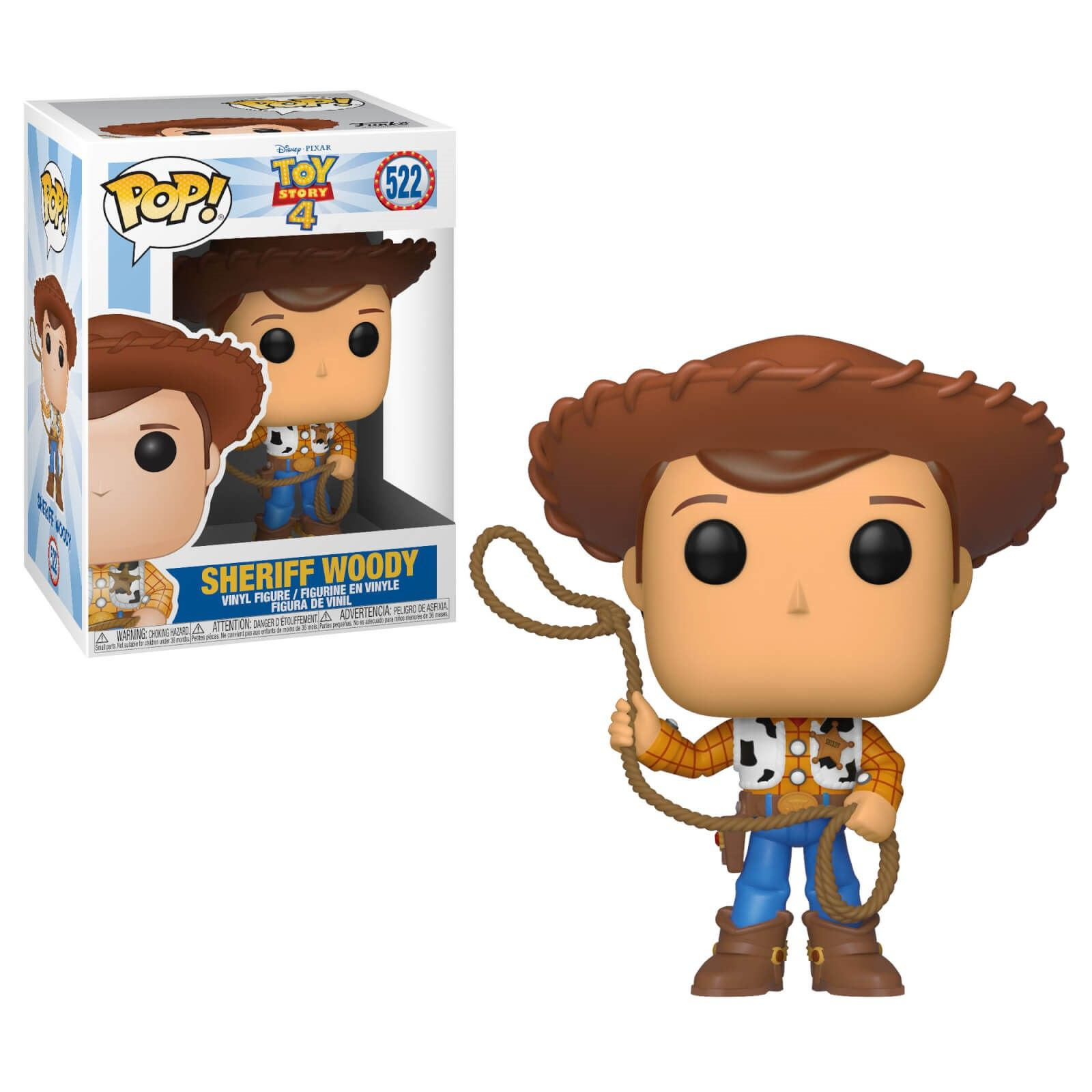 Funko Pop Woody con lazo